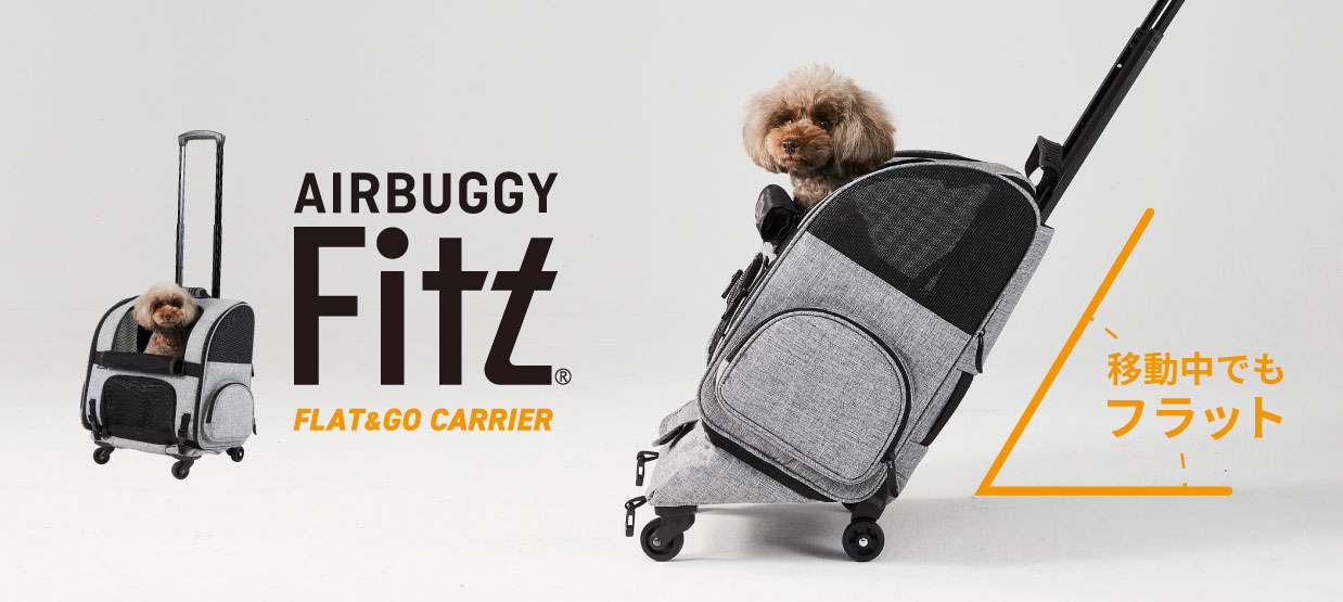 AIRBUGGY FITT FLAT & GO CARRIER